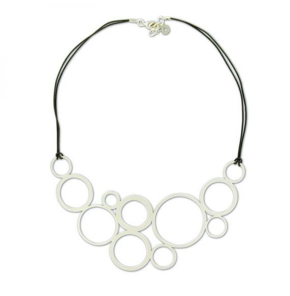 Chokers Planets Silver short necklace