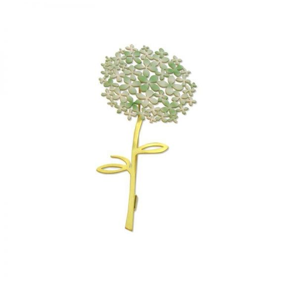 Brooches Green Gold Hydrangea Brooch