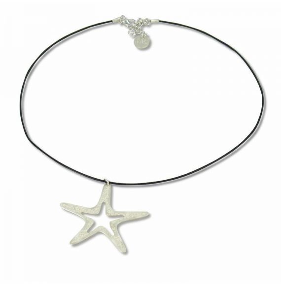 Pendants Silver Sea Star Short Pendant