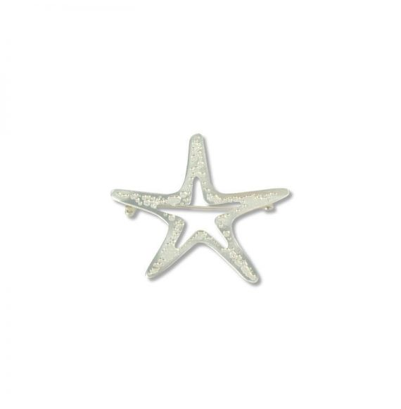 Brooches Silver Sea Star Pin