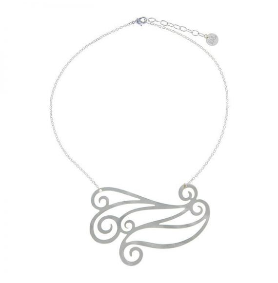 Chokers Breeze Necklace Silver