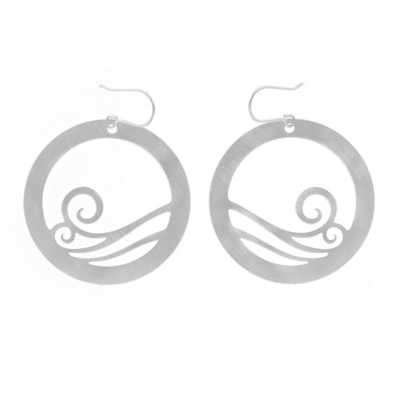 Earrings Breeze Earrings Silver
