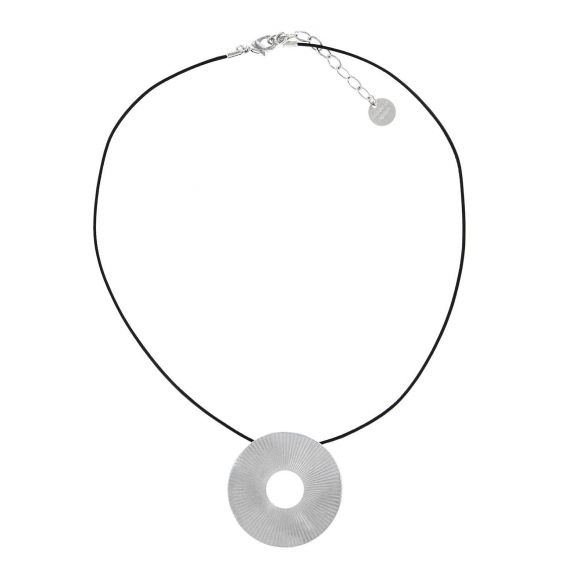 Necklace Destellos Short Pendant Silver