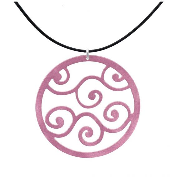 Bucle Silver Pink Little Pendant