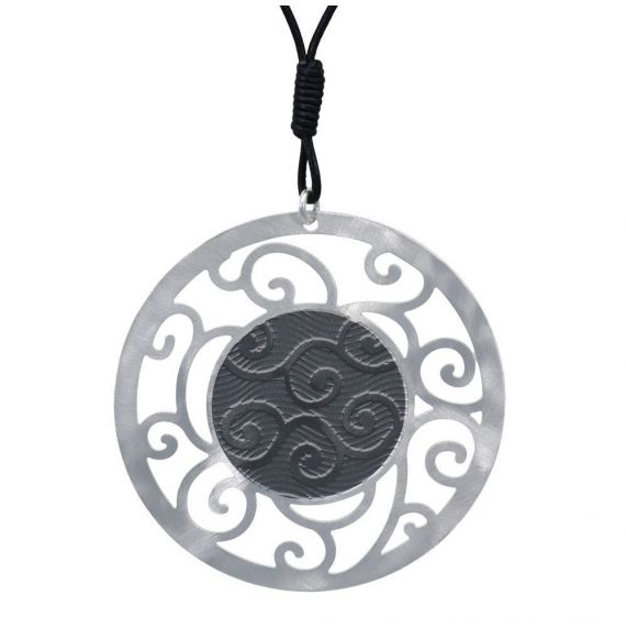 Pendants Bucle Silver Gray Pendant