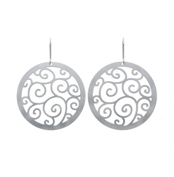 Earrings Bucle Silver Earrings
