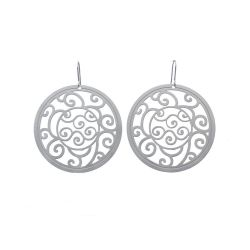 Earrings Bucle Small Earrings Silver