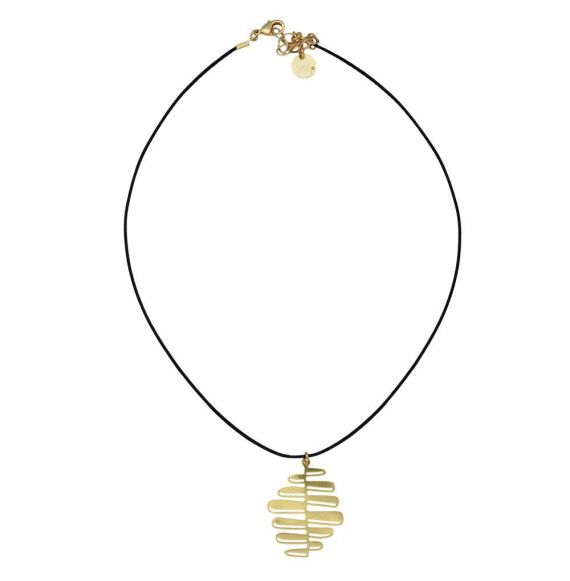 Nilo Gold Short Pendant