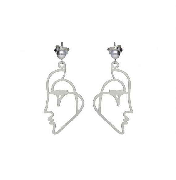 Earrings Venecia Kiss Silver Earrings
