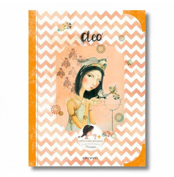 """Cool Designs Colection \\""""Cleo\\"""" book (Miranda Collection)"""