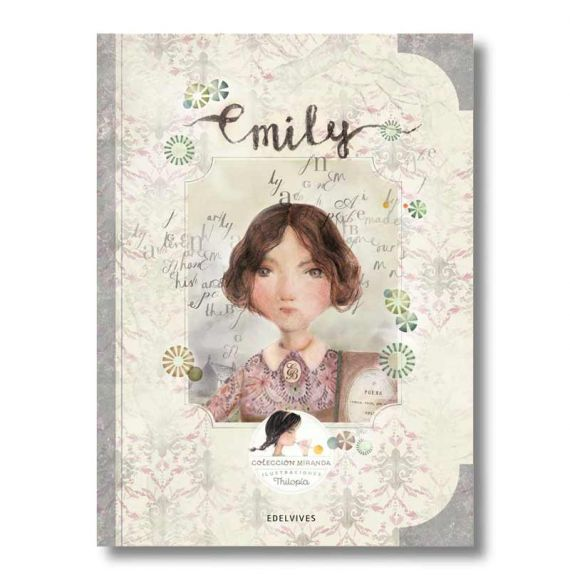 """Cool Designs Colection \\""""Emilie\\"""" book (Miranda Collection)"""