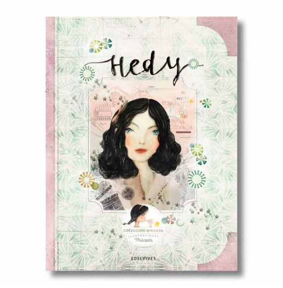 """Cool Designs Colection \\""""Hedy\\"""" book (Miranda Collection)"""