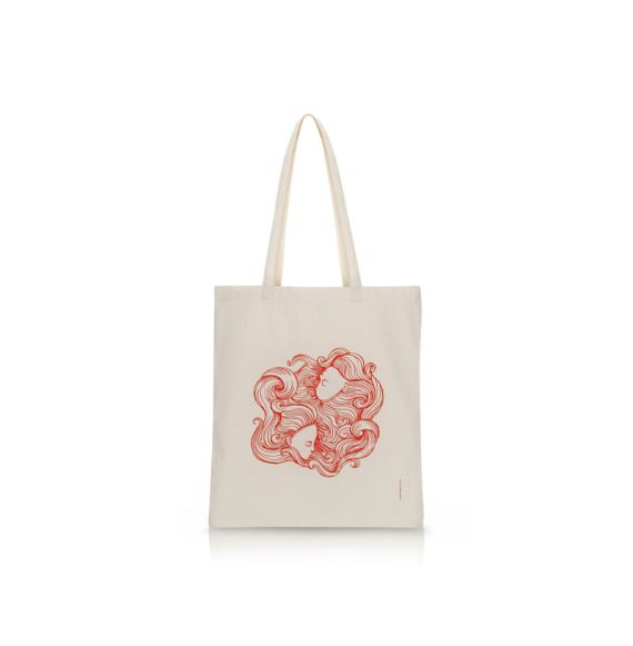 Cool Designs Colection Hermanas Cotton Bag