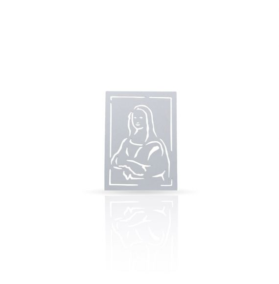 Metal magnet The Gioconda