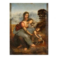 Cool Designs Colection A6 Notebook The Virgin and Child with St. Anne