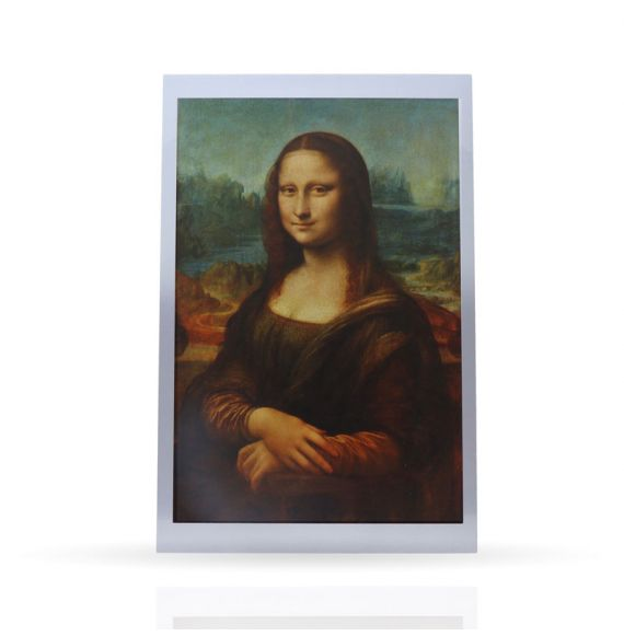 Post Card The Gioconda