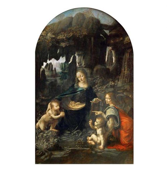 Cool Designs Colection A6 Notebook Virgin of the Rocks