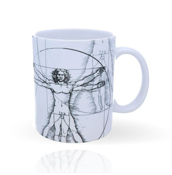 Cool Designs Colection Mug The Vitruvio Man 32 cl