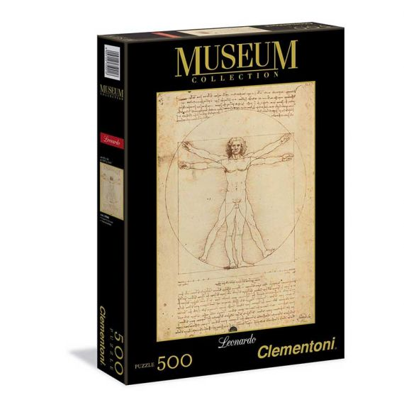 Cool Designs Colection Puzzle The Vitruvio Man 500 pieces