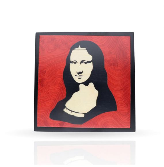 Wooden box The Gioconda