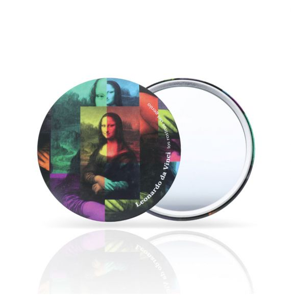 Pocket mirror The Gioconda