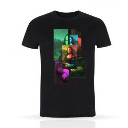 Cool Designs Colection T-Shirt La Gioconda | Man
