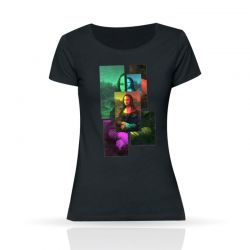 Cool Designs Colection The Gioconda T-Shirt | Woman