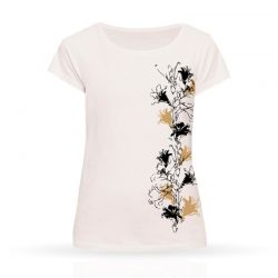 Cool Designs Colection T-Shirt Lilies | Woman