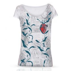 T-Shirt Heart | Woman