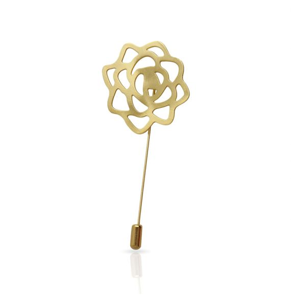 Brooches Rose Brooch Gold