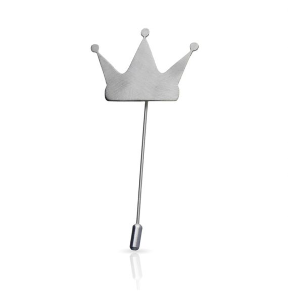 Brooches Crown Brooch Silver