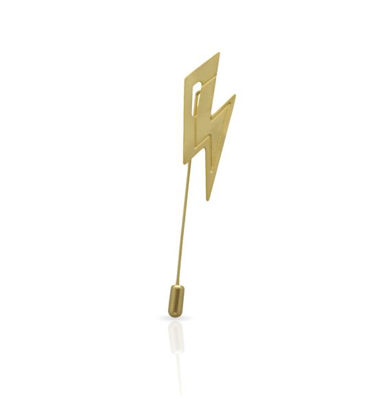 Brooches Thunder Brooch Gold