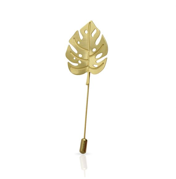 Brooches Adan Brooch Gold
