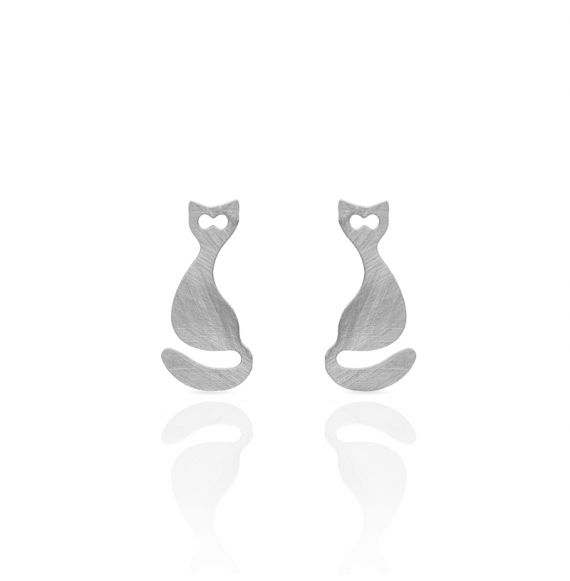 Earrings Cat Earring Gold