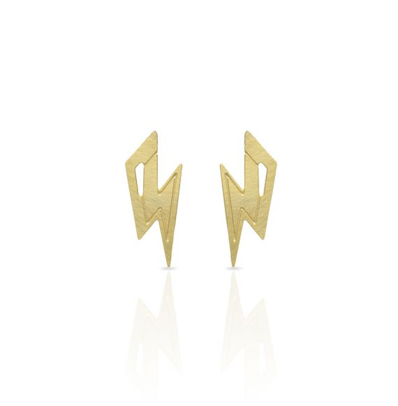 Earrings Thunder Earring Gold