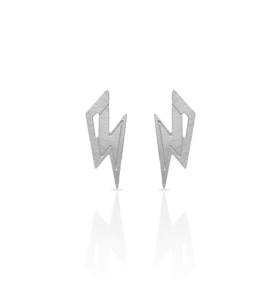 Earrings Thunder Earring Silver