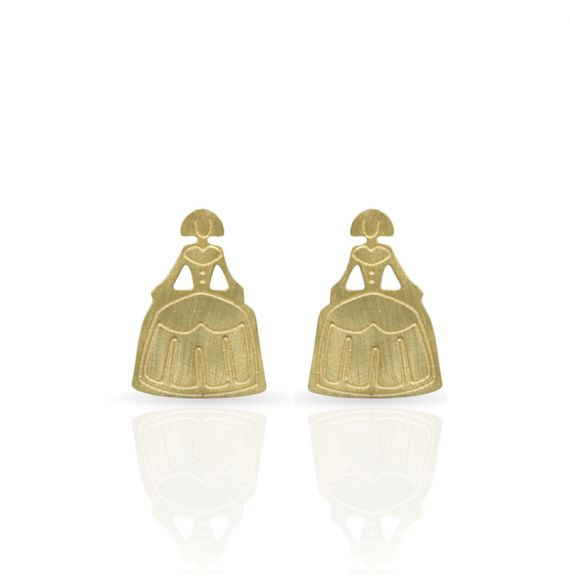 Earrings Menina Earring Gold