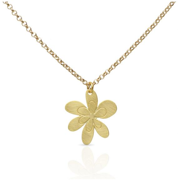 Necklace Maya Short Pendant Gold