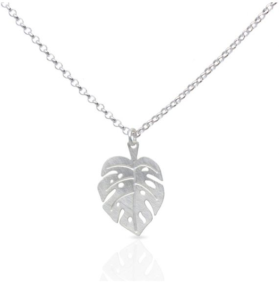 Necklace Adam Short Pendant Silver