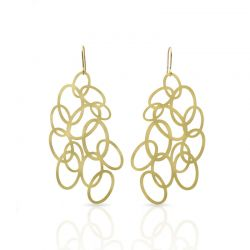 Earrings Closer Earrings Gold
