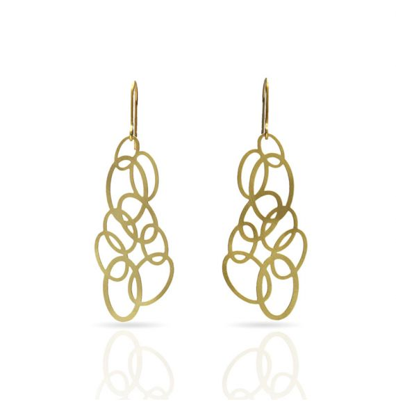 Earrings Closer Small Earrings Gold