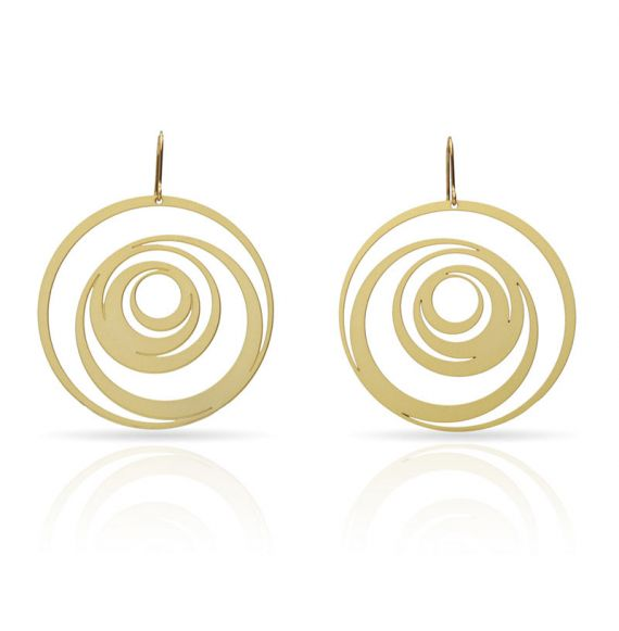 Earrings Excentrico Earring Gold