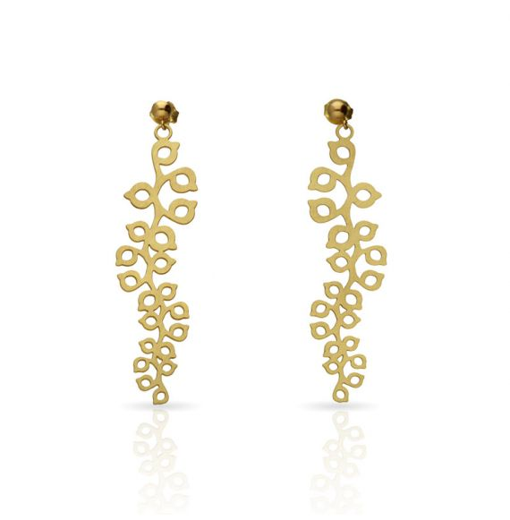 "Earrings Earrings \""Rama\\"" Gold"