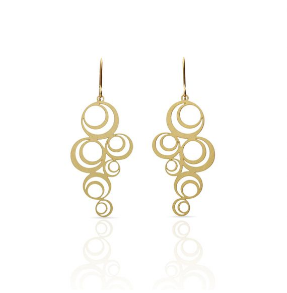 Earrings Aros Earring Gold