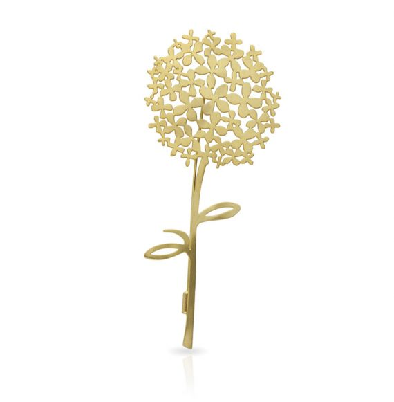 Brooches Hortensia Brooch Gold