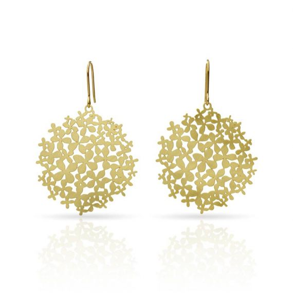 Earrings Hortensia Earring Gold