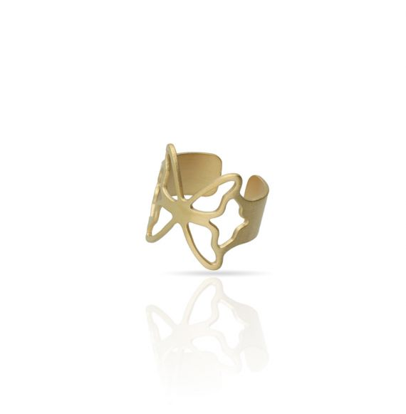 Rings Butterfly Ring Gold