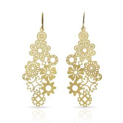 "Earrings Earrings \""Miscelanea\\"" Gold"