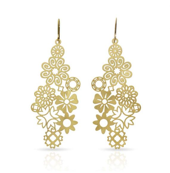 Earrings Miscelanea Earring Gold