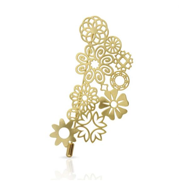 """Brooches Brooch \\""""Miscelanea\\"""" Gold"""